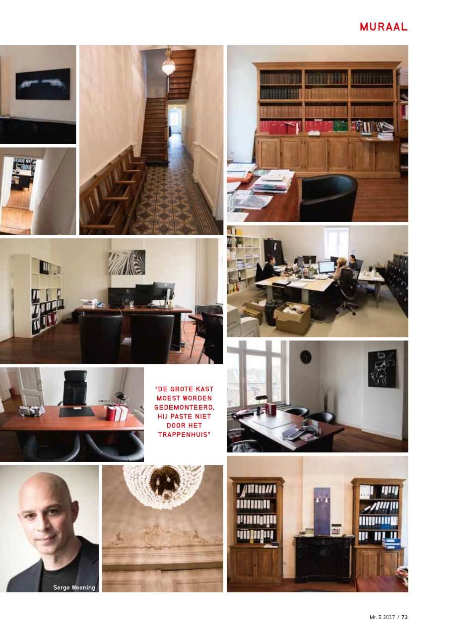 Klassiek pand dynamisch kantoor Mr 3
