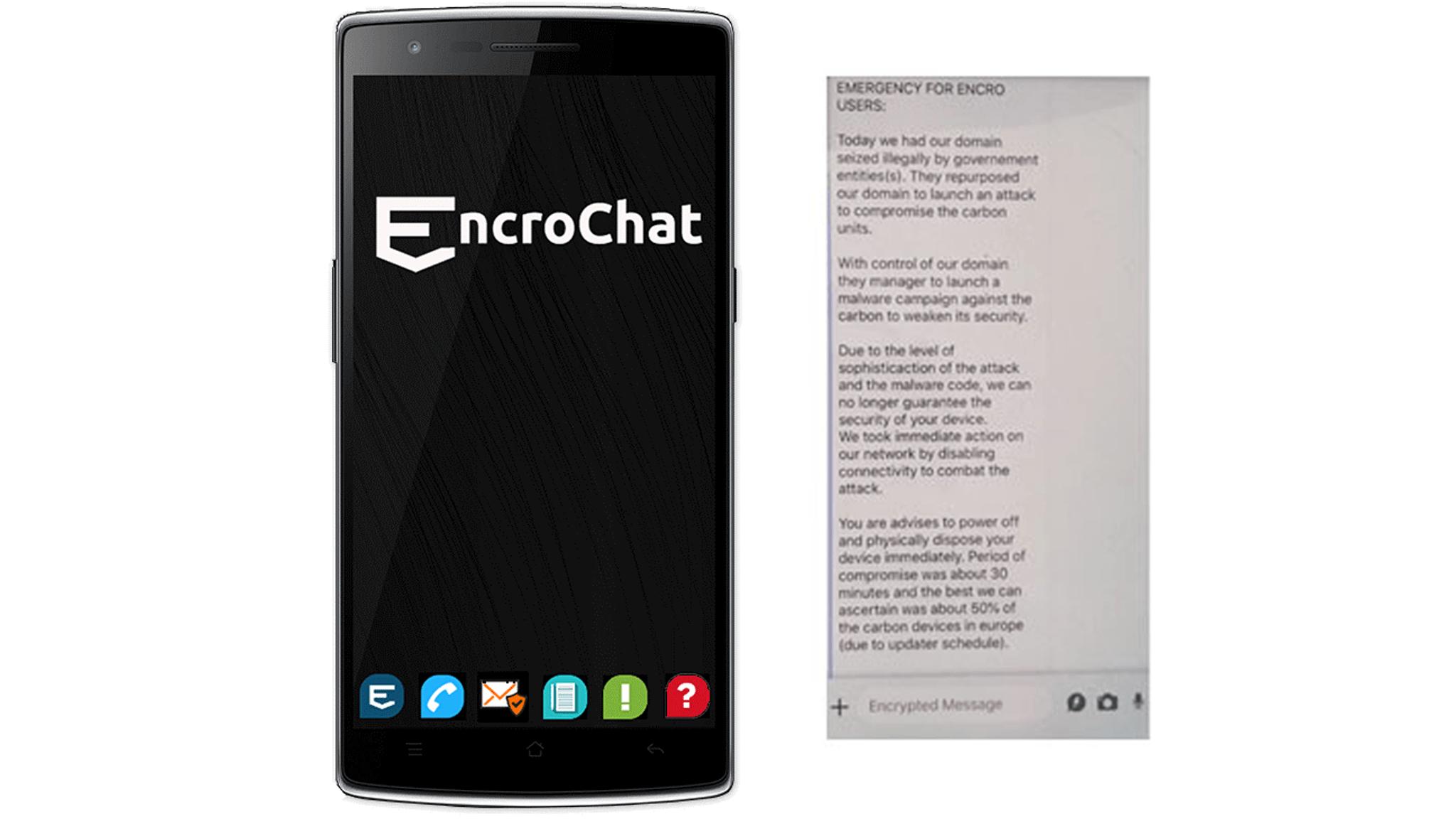 EncroChat Encrypted Phone hacked - Weening Strafrechtadvocaten